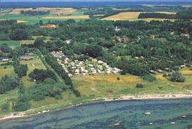 Sølager Strand Camping ved Hundested.