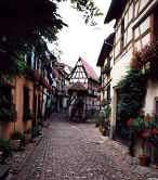 Motiv fra byen Eguisheim - ©Tommy Hansen